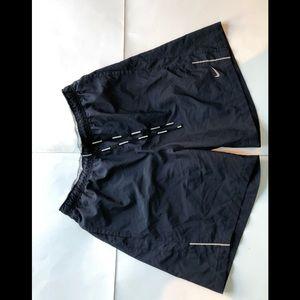 Nike dri fit navy running shorts